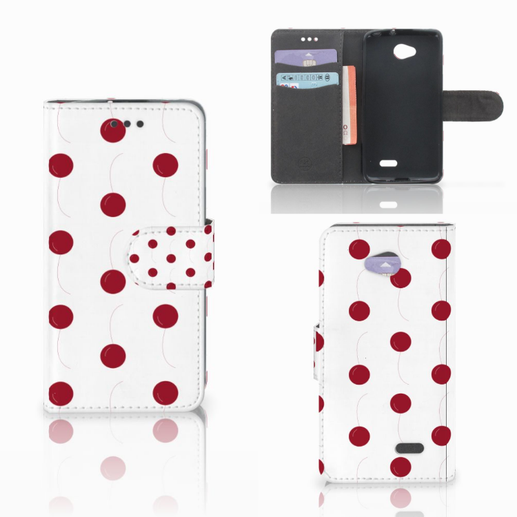 LG L70 Book Cover Cherries