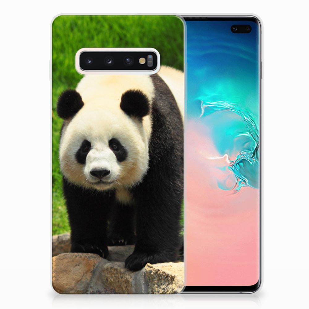 Samsung Galaxy S10 Plus TPU Hoesje Panda