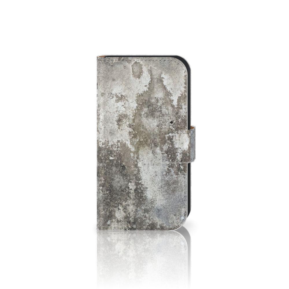 Samsung Galaxy Ace 4 4G (G357-FZ) Boekhoesje Design Beton