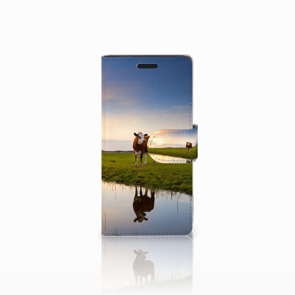 LG Leon 4G Boekhoesje Design Koe