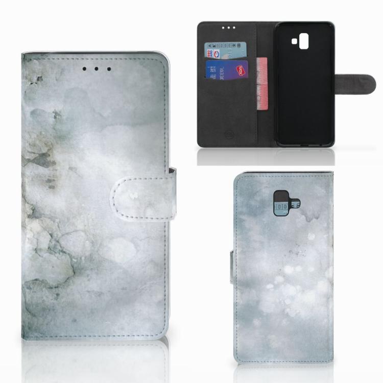 Hoesje Samsung Galaxy J6 Plus (2018) Painting Grey