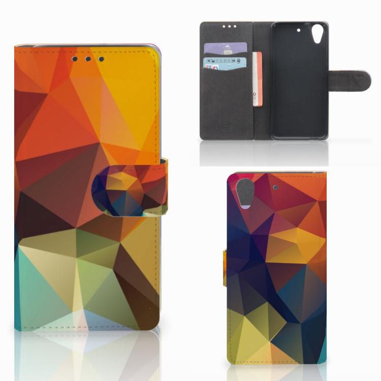 HTC Desire 626 | Desire 626s Bookcase Polygon Color
