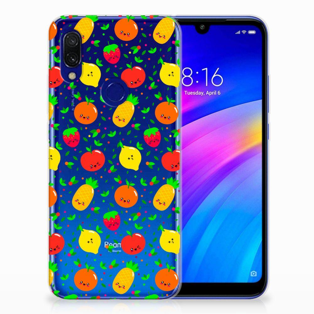 Xiaomi Redmi 7 Siliconen Case Fruits