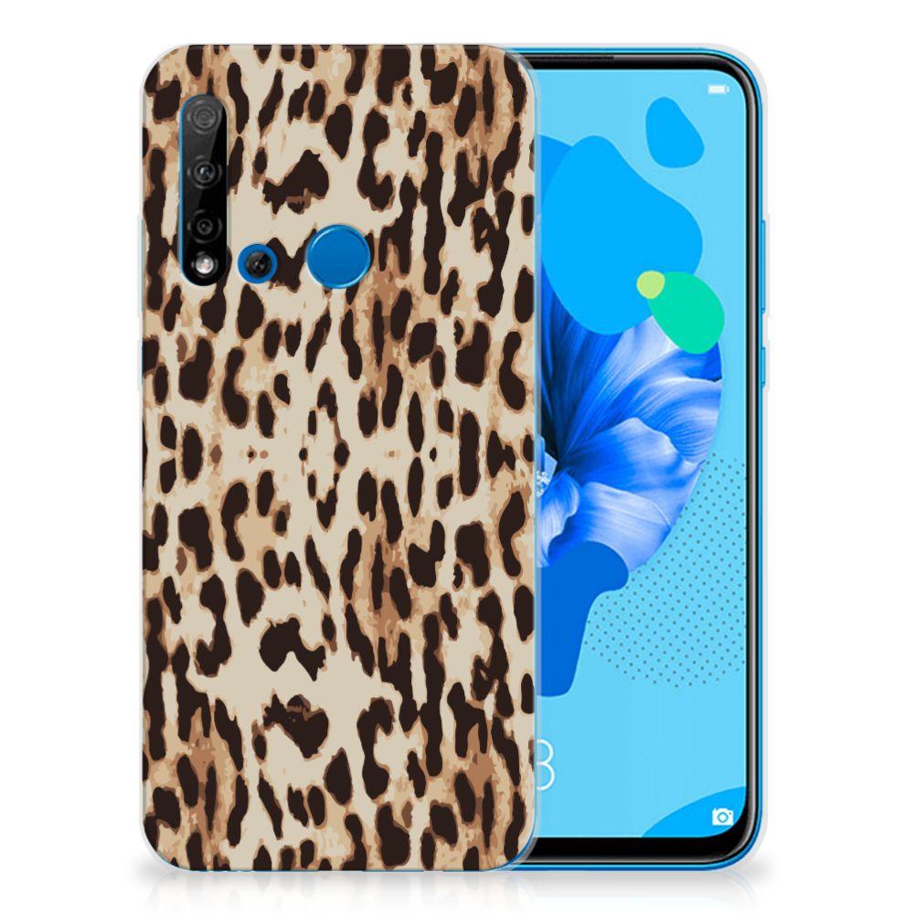 Huawei P20 Lite (2019) TPU Hoesje Leopard