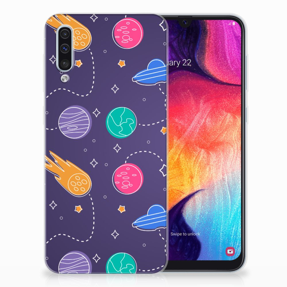 Samsung Galaxy A50 Silicone Back Cover Space