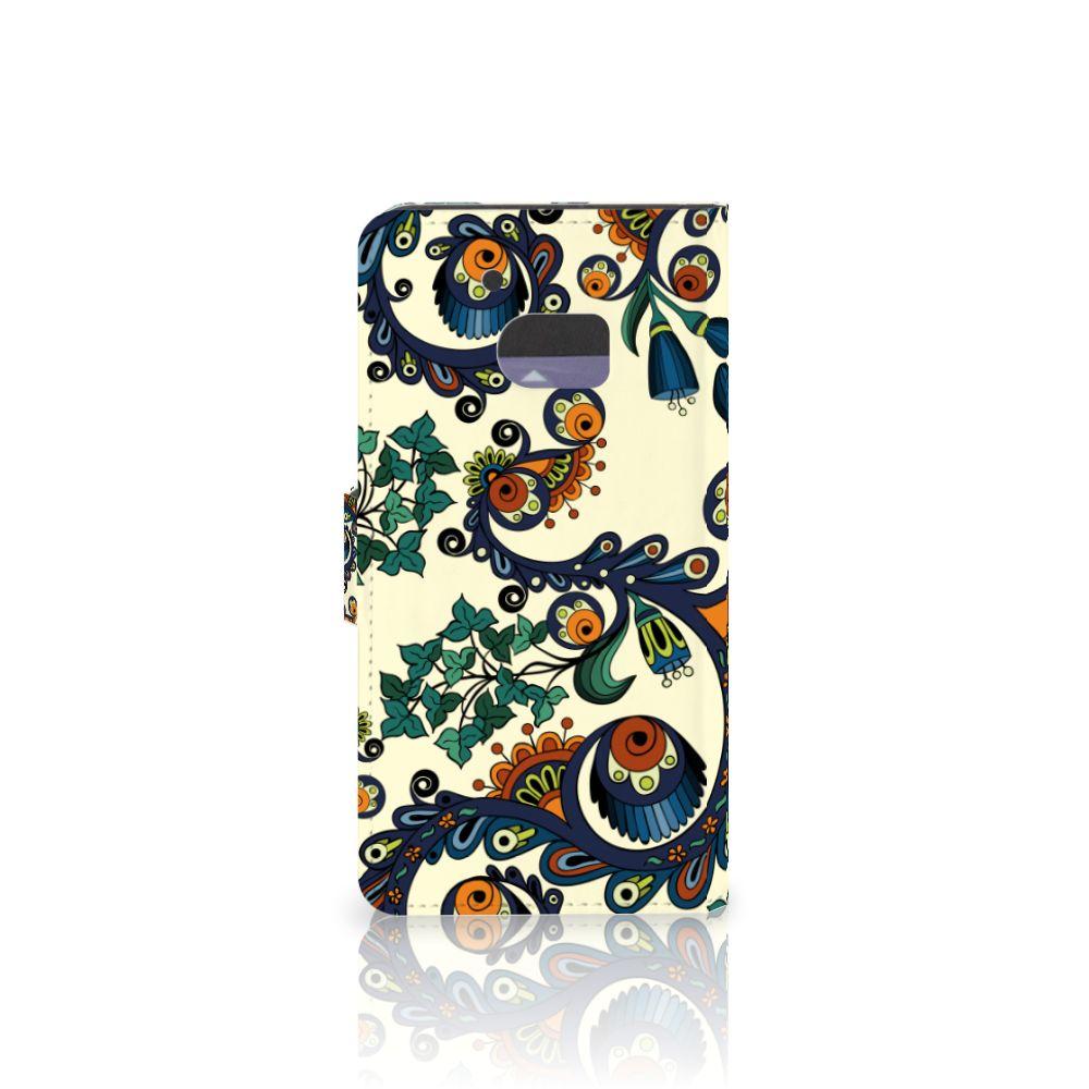 Wallet Case HTC 10 Barok Flower