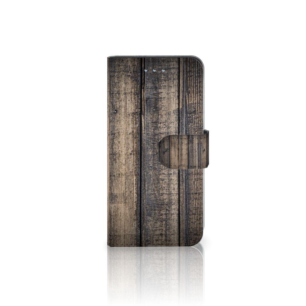 Samsung Galaxy S6 | S6 Duos Boekhoesje Design Steigerhout