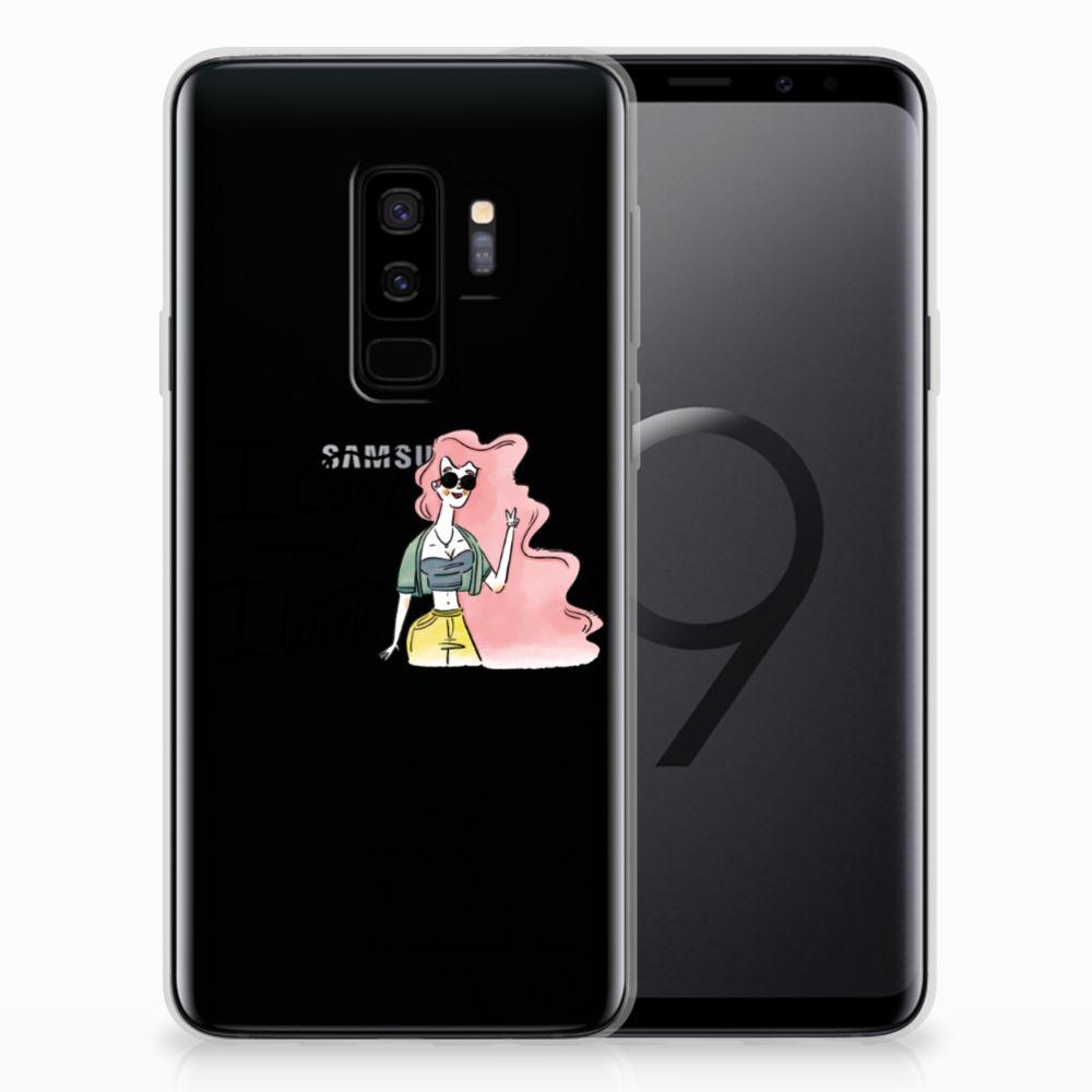 Samsung Galaxy S9 Plus Telefoonhoesje met Naam i Can