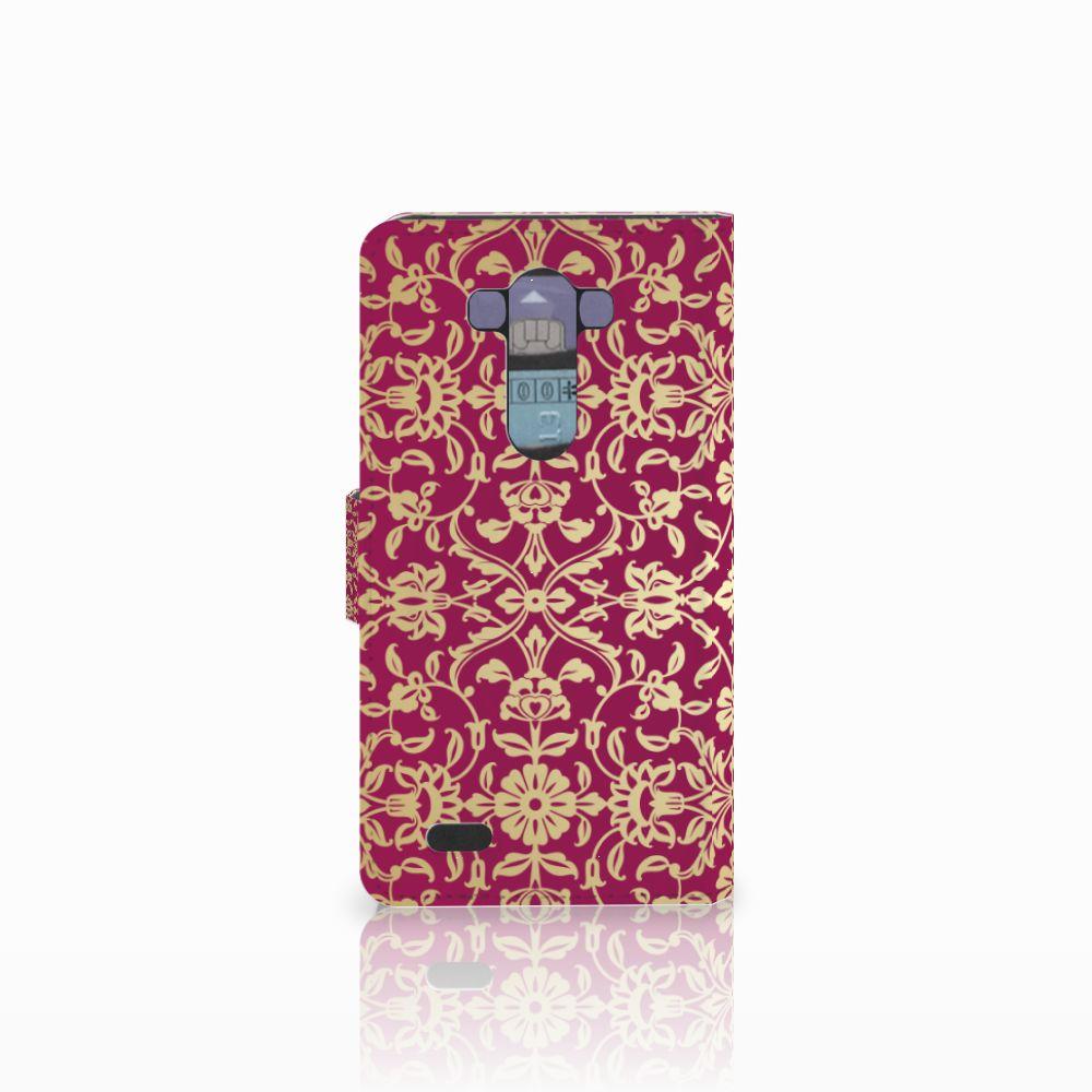 Wallet Case LG G3 Barok Pink