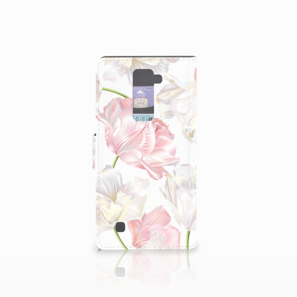 LG K10 2015 Hoesje Lovely Flowers