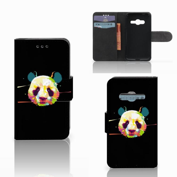 Samsung Galaxy Trend 2 Leuke Hoesje Panda Color