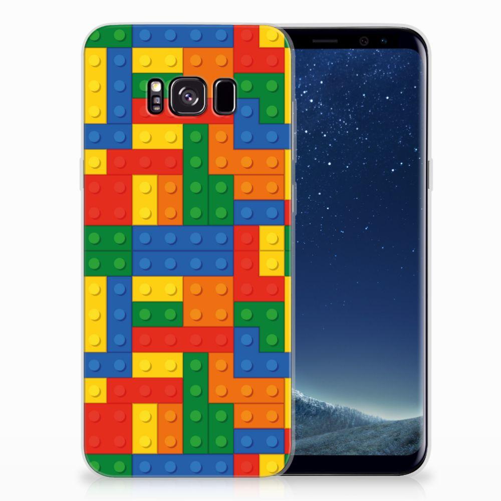 Samsung Galaxy S8 Plus Uniek TPU Hoesje Blokken