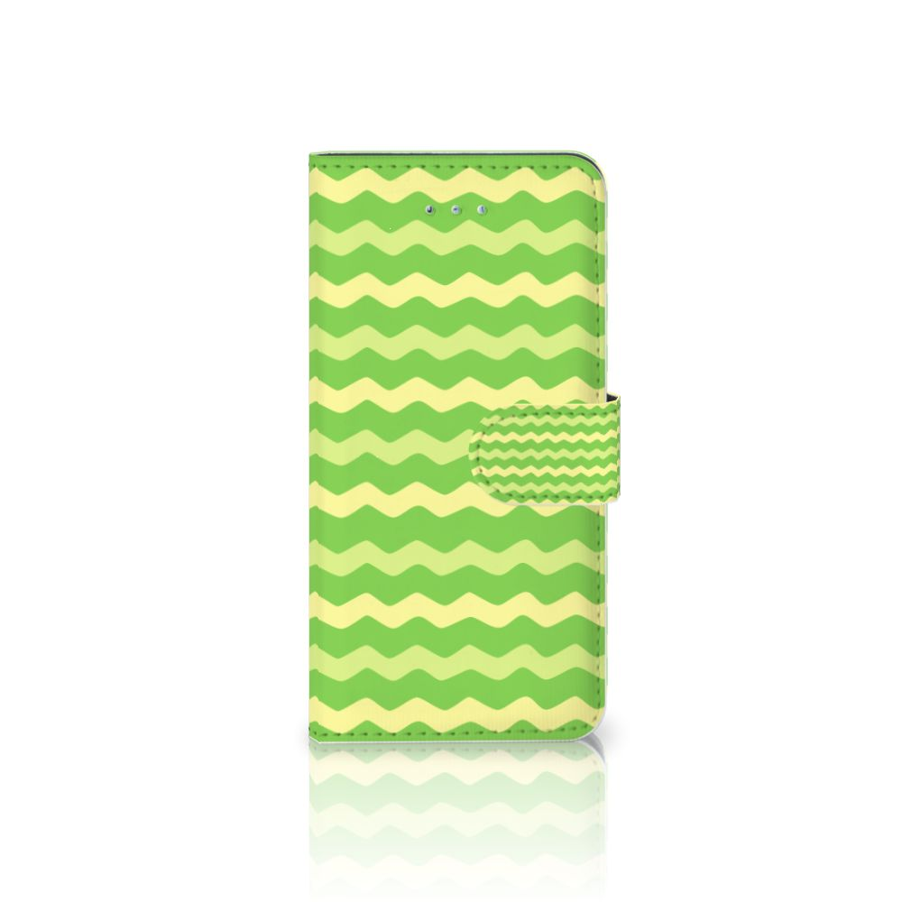Honor 4A | Y6 Boekhoesje Design Waves Green