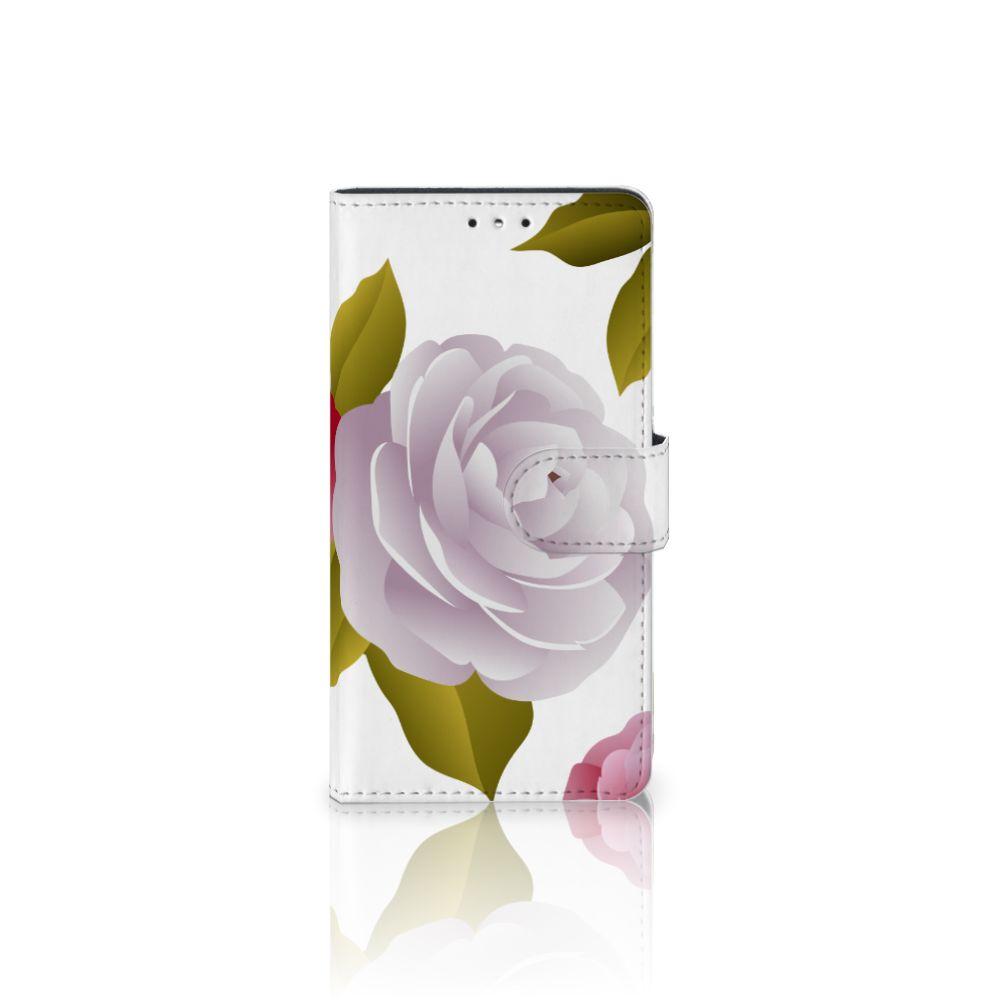 LG K10 (2017) Uniek Boekhoesje Roses