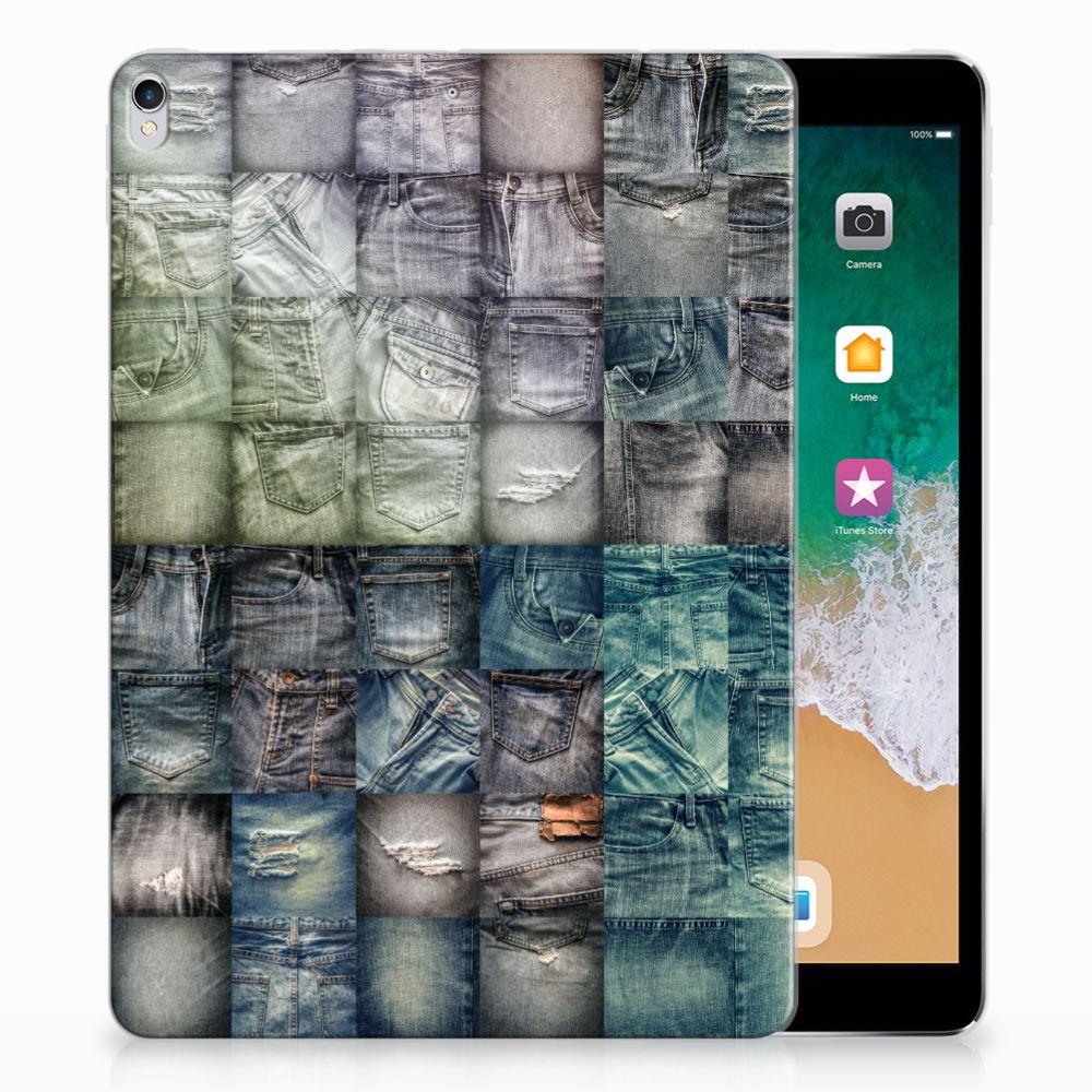 Apple iPad Pro 10.5 Uniek Tablethoesje Spijkerbroeken