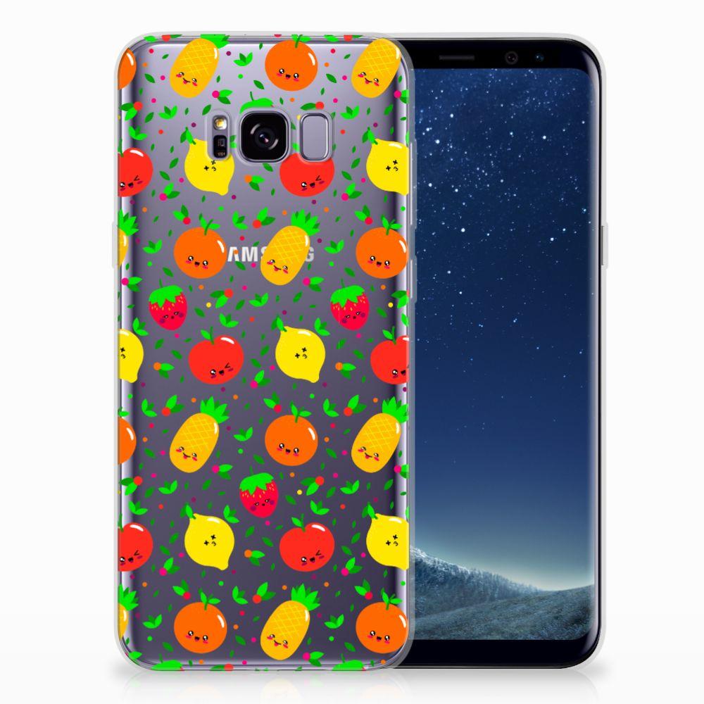 Samsung Galaxy S8 Plus TPU Hoesje Design Fruits
