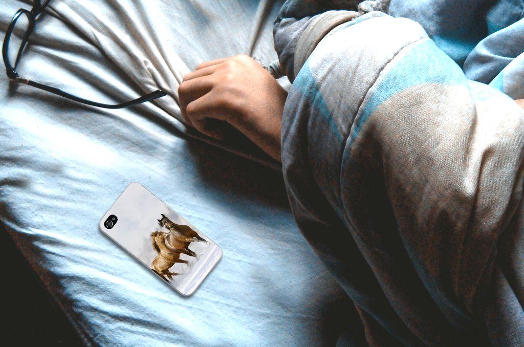 Apple iPhone 4 | 4s TPU Hoesje Paarden