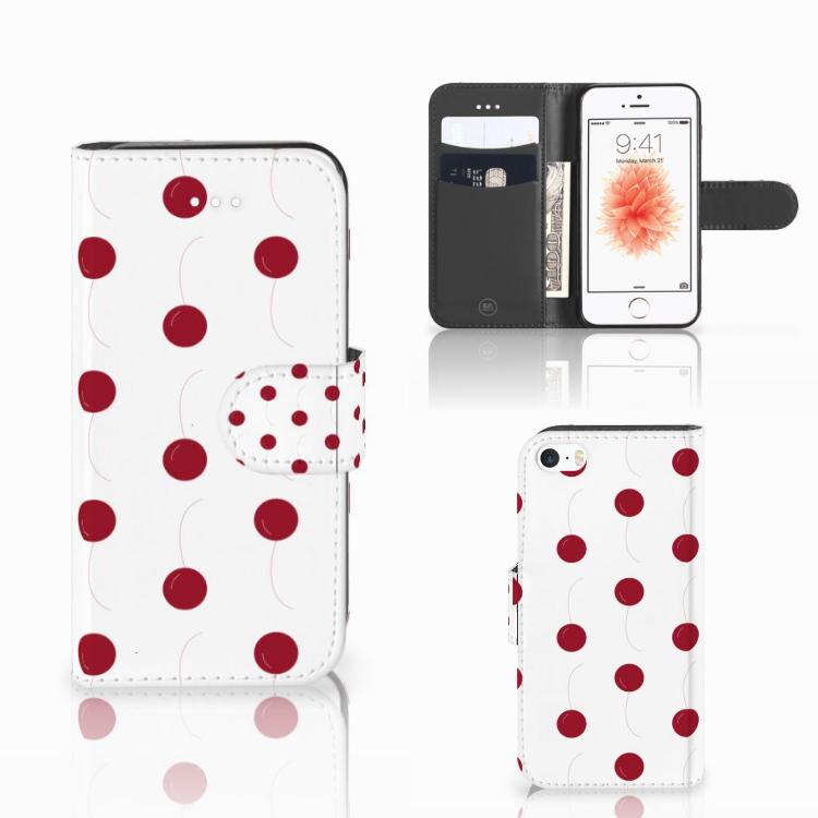 Apple iPhone 5 | 5s | SE Book Cover Cherries