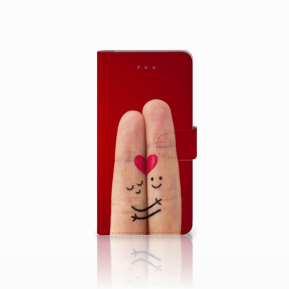 Samsung Galaxy J7 (2018) Uniek Boekhoesje Liefde