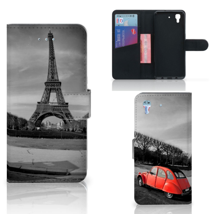 Honor 4A | Y6 Flip Cover Eiffeltoren