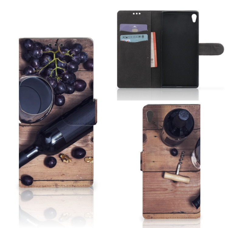 Sony Xperia XA Ultra Book Cover Wijn