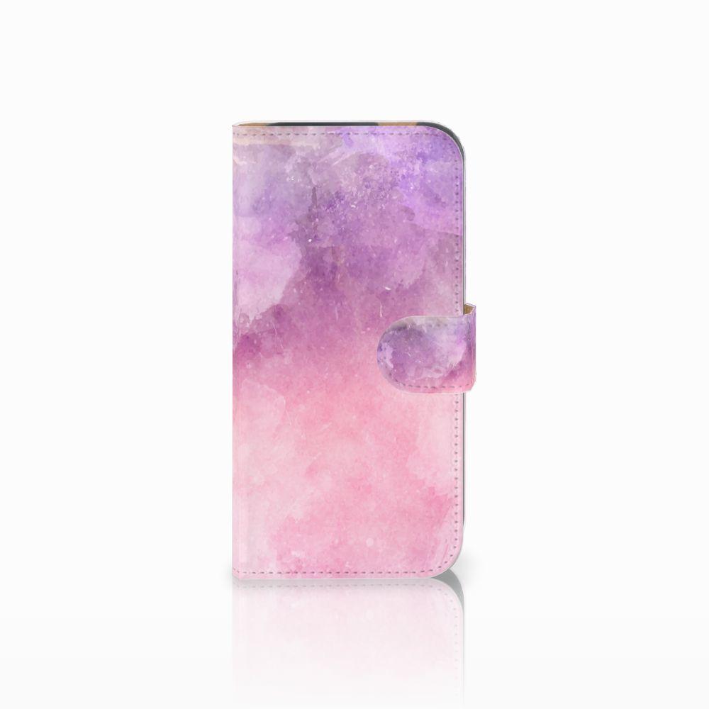 Hoesje HTC One M8 Pink Purple Paint