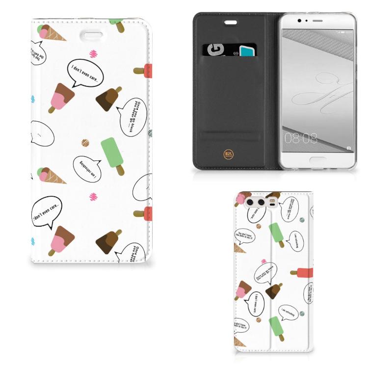 Huawei P10 Plus Flip Style Cover IJsjes