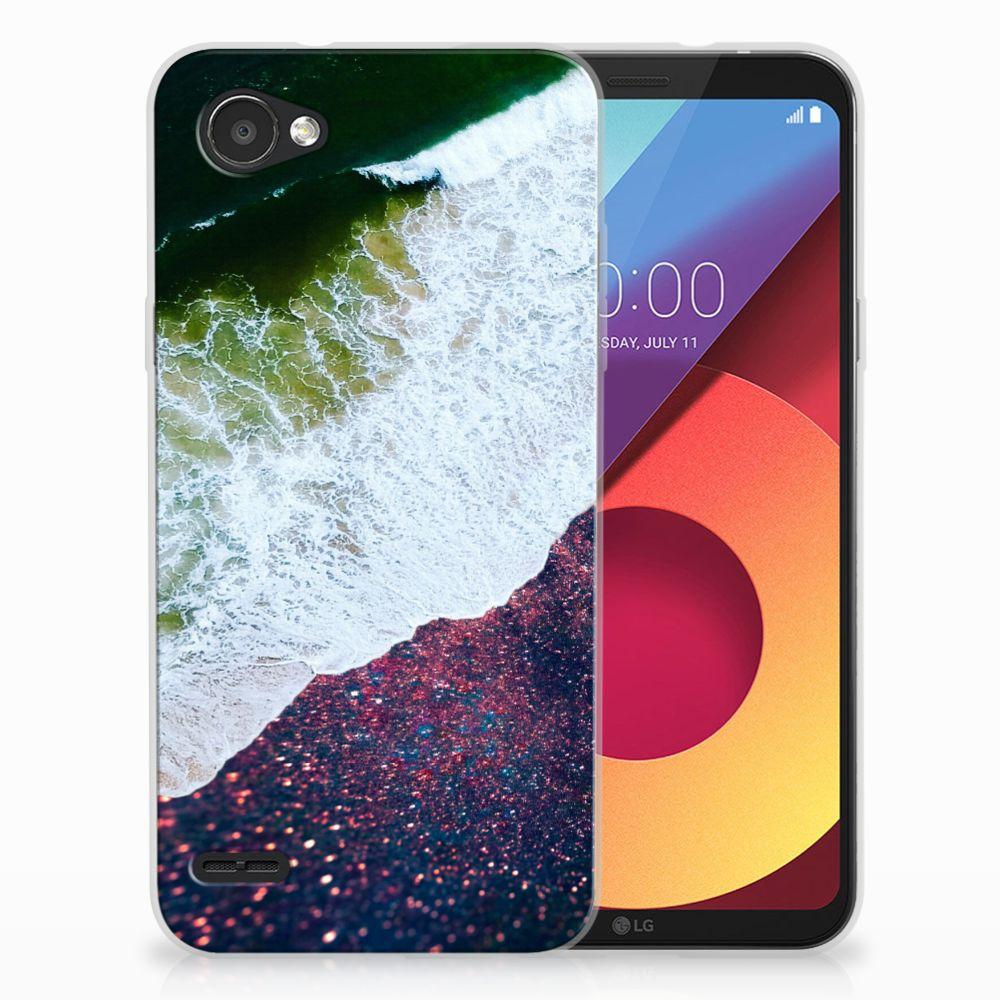 LG Q6   LG Q6 Plus TPU Hoesje Design Sea in Space