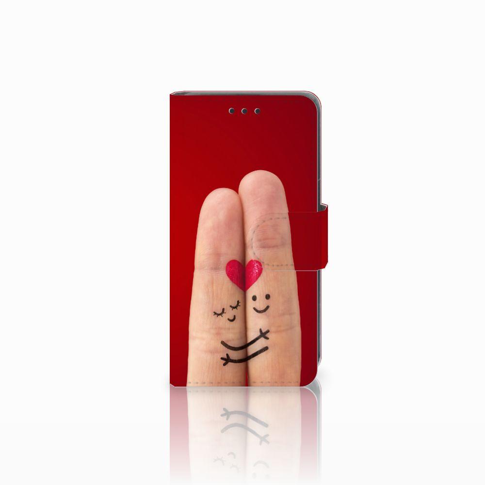 Nokia Lumia 630 Uniek Boekhoesje Liefde