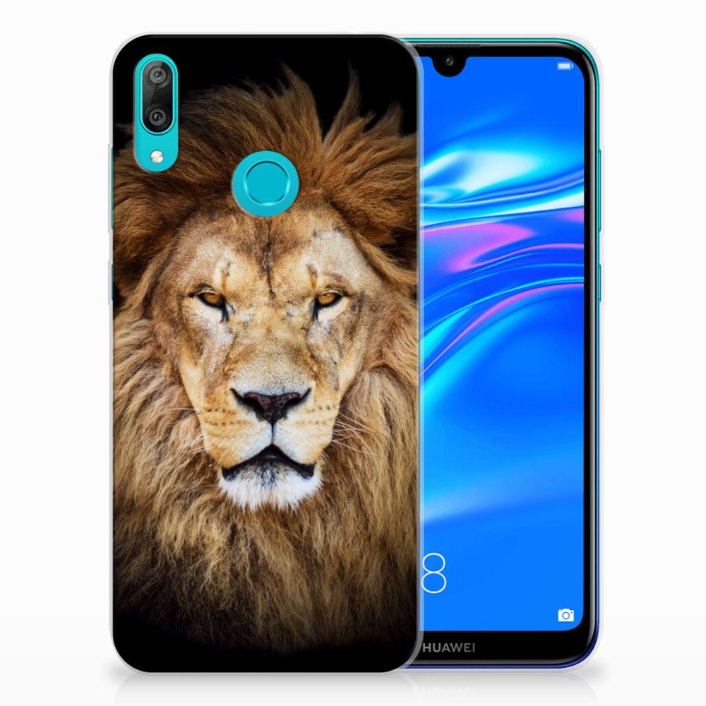 Huawei Y7 2019 TPU Hoesje Leeuw
