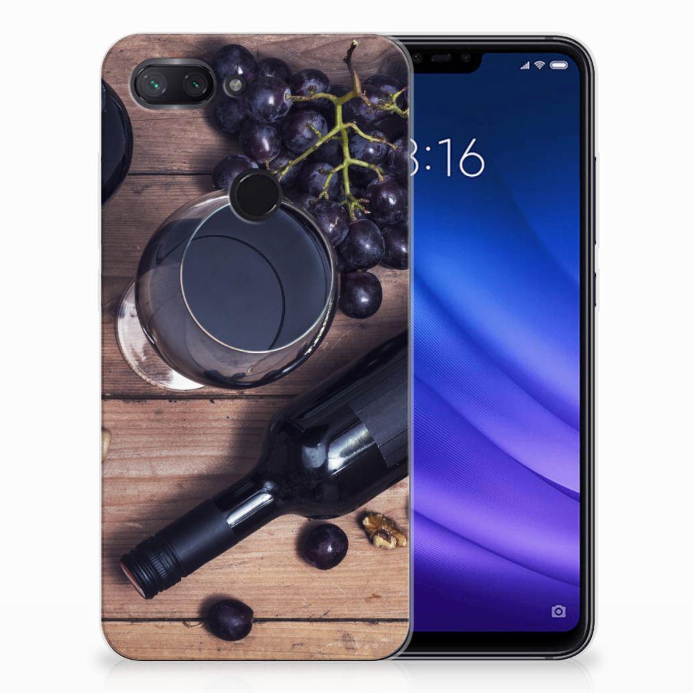 Xiaomi Mi 8 Lite Siliconen Case Wijn