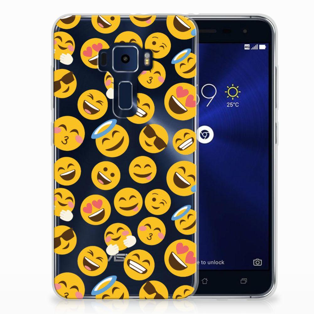 ASUS Zenfone 3 TPU Hoesje Design Emoji