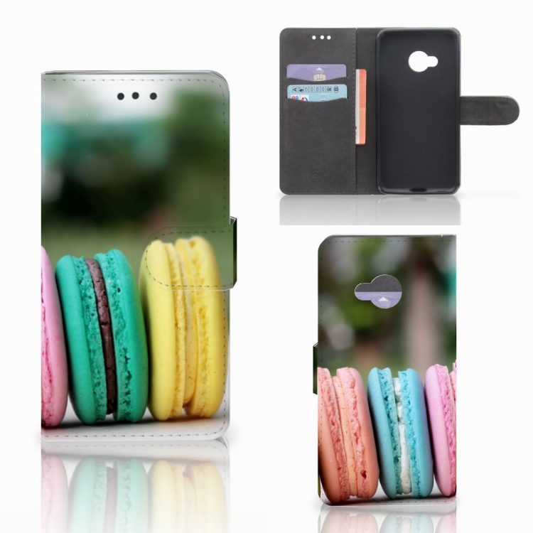 HTC U Play Book Cover Macarons
