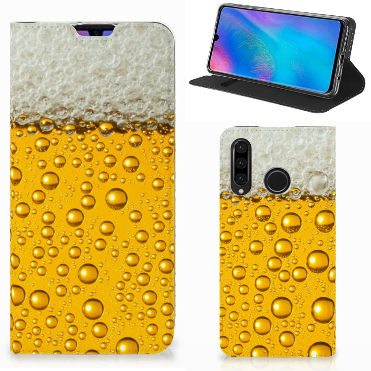Huawei P30 Lite Flip Style Cover Bier