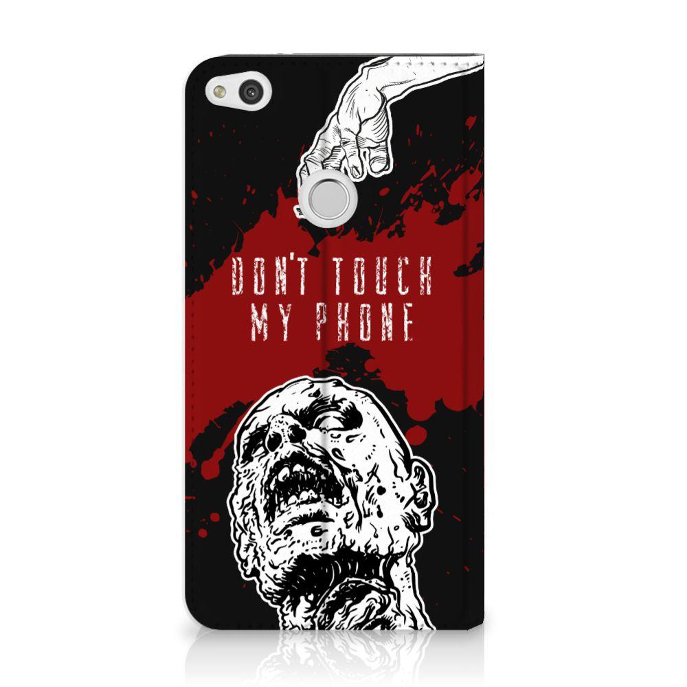 Huawei P8 Lite 2017 Standcase Hoesje Design Zombie Blood