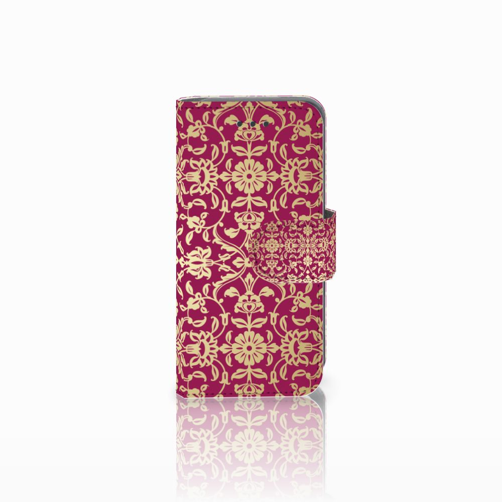 Apple iPod Touch 5 | 6 Boekhoesje Design Barok Pink