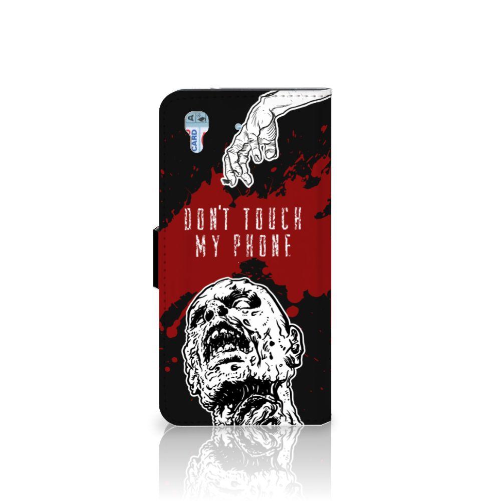 Honor 4A | Y6 Portemonnee hoesje Zombie Blood