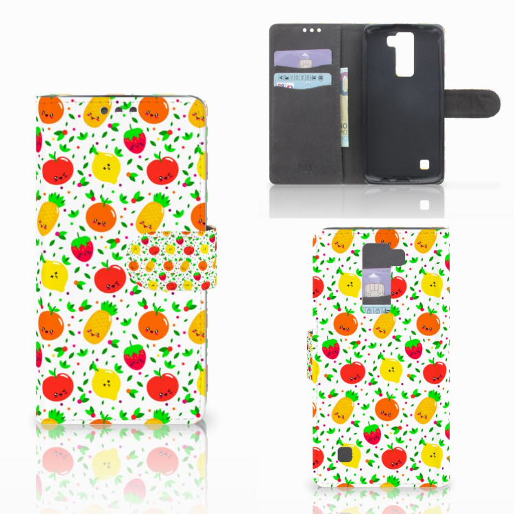LG K8 Book Cover Fruits
