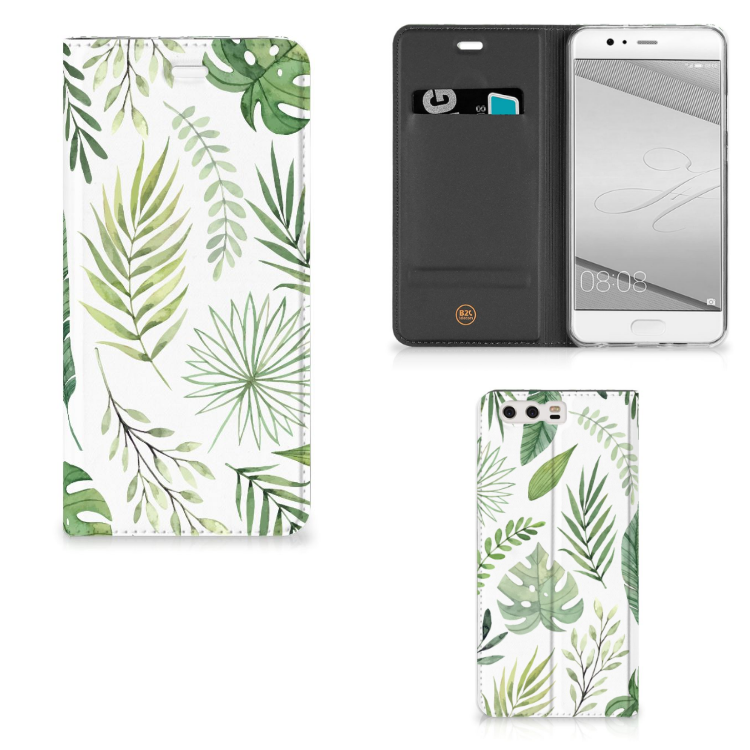 Huawei P10 Plus Smart Cover Leaves