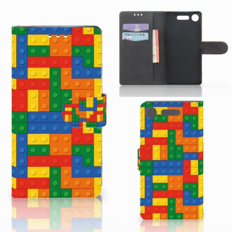 Sony Xperia XZ1 Telefoon Hoesje Blokken