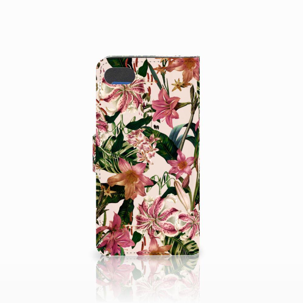 Huawei Y5 2018 Hoesje Flowers