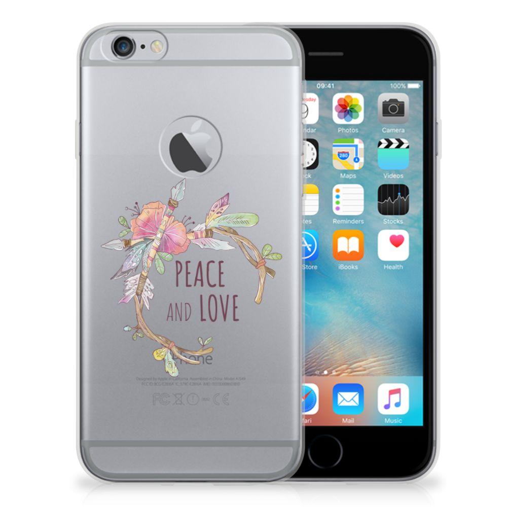 Apple iPhone 6 Plus | 6s Plus Telefoonhoesje met Naam Boho Text