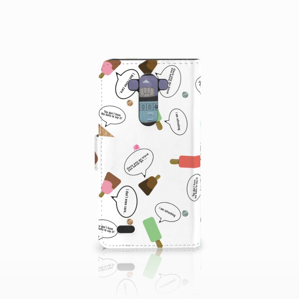 LG G3 Book Cover IJsjes