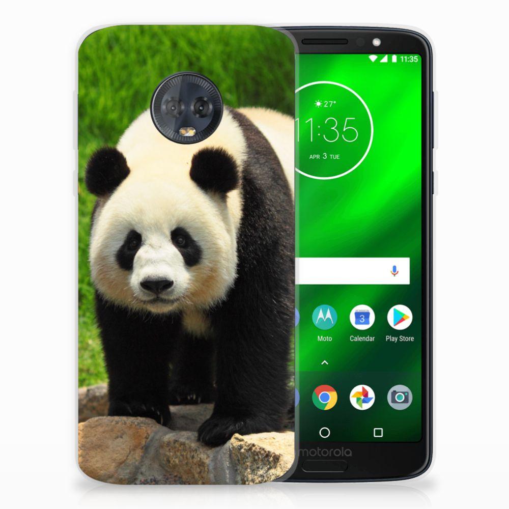 Motorola Moto G6 Plus TPU Hoesje Design Panda