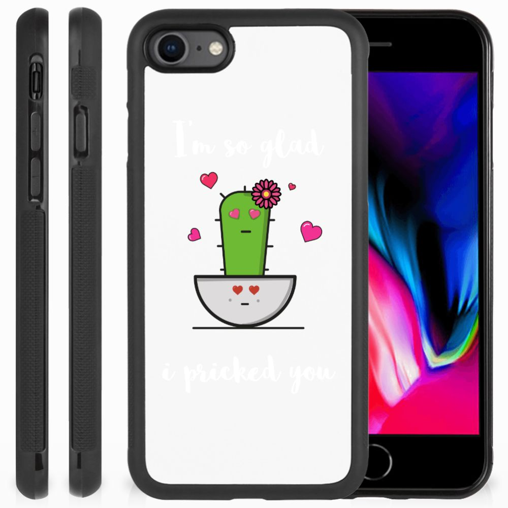 Apple iPhone 7 | 8 Bumper Hoesje Cactus Glad