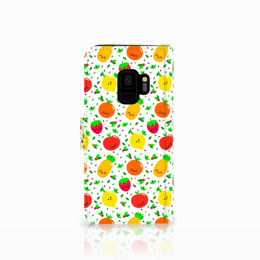 Samsung Galaxy S9 Book Cover Fruits
