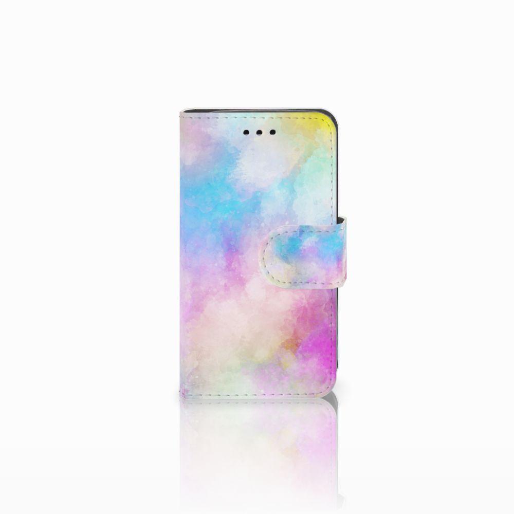 Samsung Galaxy Trend 2 Uniek Boekhoesje Watercolor Light