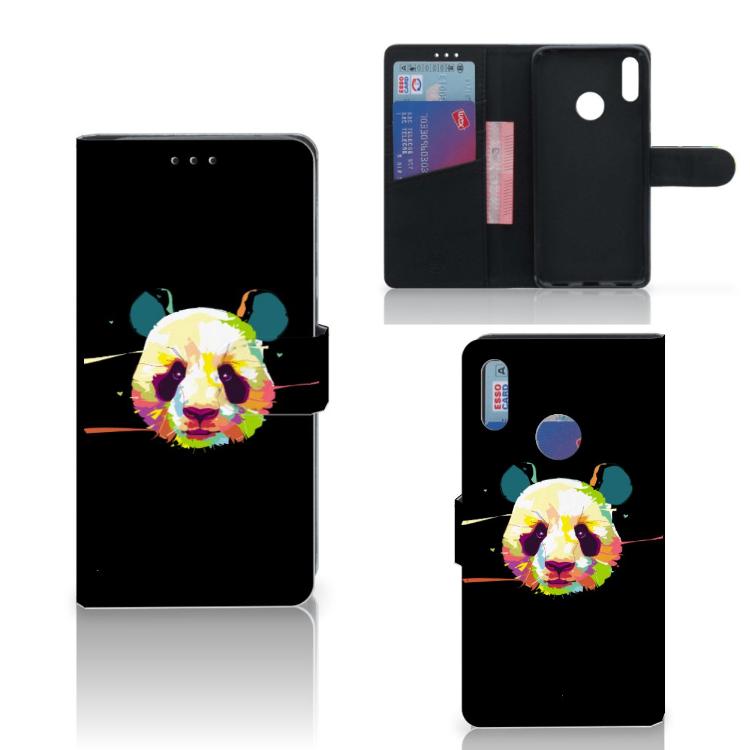 Huawei Y7 Pro | Y7 Prime (2019) Leuke Hoesje Panda Color