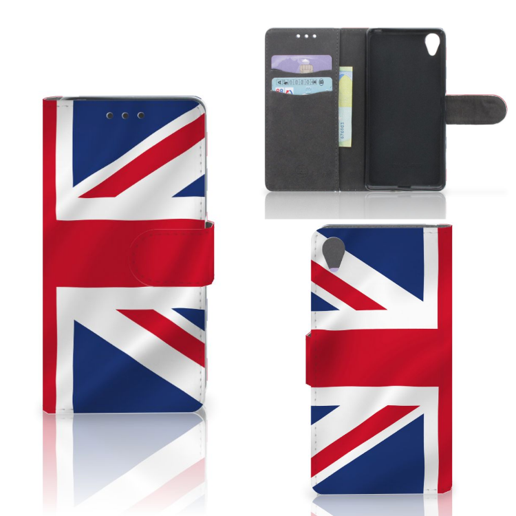 Sony Xperia X Bookstyle Case Groot-Brittannië