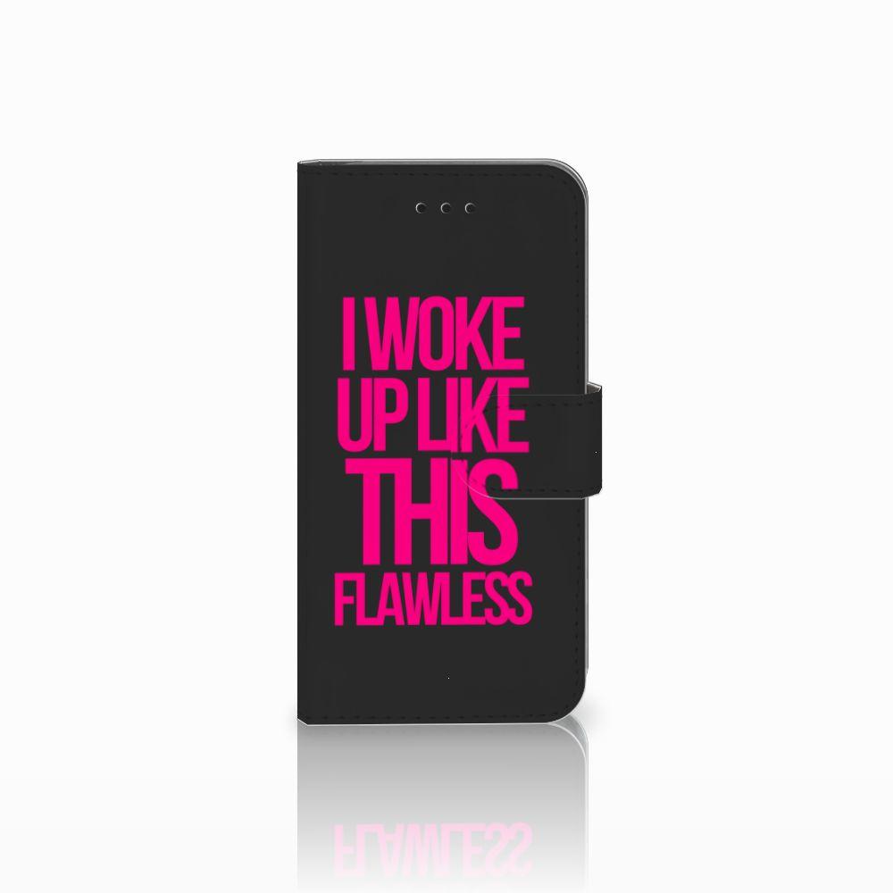 Apple iPhone X | Xs Uniek Boekhoesje Woke Up